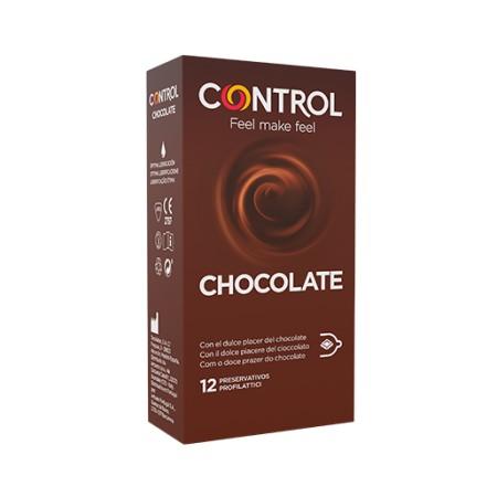 CONTROL D-LICIUS CHOCOLATE 12 PRESERVATIVOS