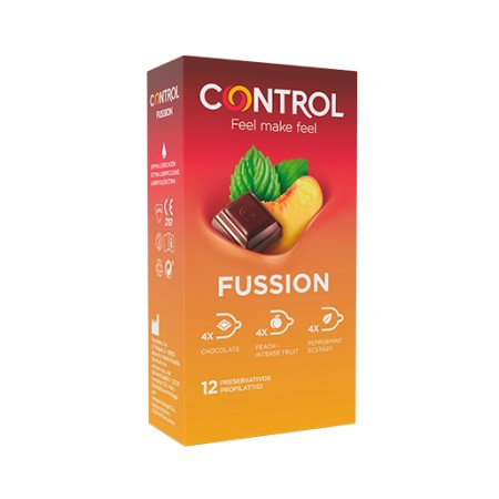 CONTROL D-LICIUS FUSSION 12 PRESERVATIVOS