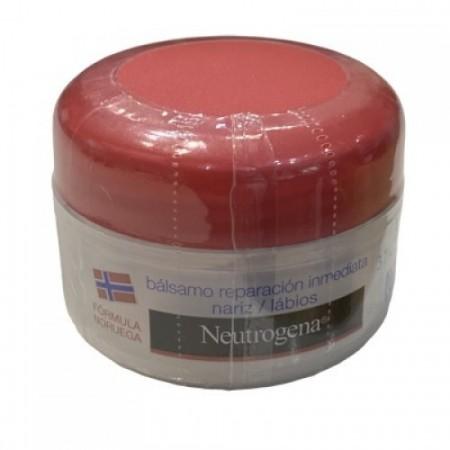 Neutrogena bálsamo reparación inmediata nariz y labios 15 ml.