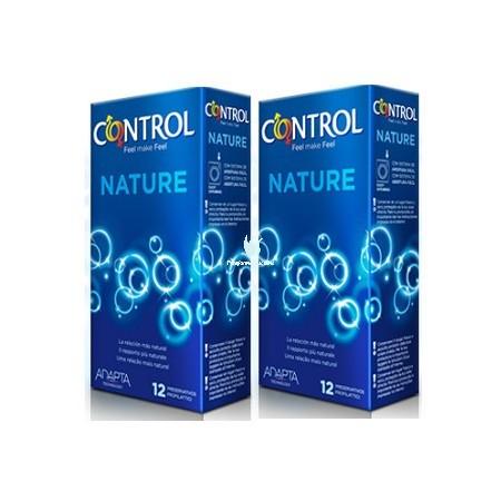 CONTROL NATURE PACK AHORRO 12+12 PRESERVATIVOS